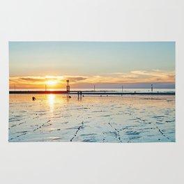 Sunset on the Horizon II Rug