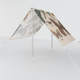 Butterflies and Moth Specimens Sun Shade