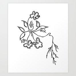 Flowers #3 Art Print