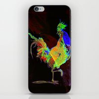 rooster iPhone & iPod Skins featuring ROOSTER by mimulux