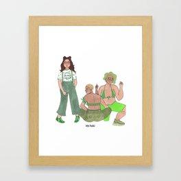 Aborto Legal Framed Art Print
