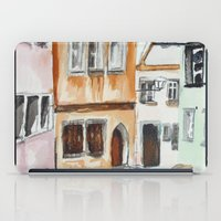 german iPad Cases featuring German Street by picturefire