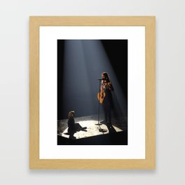 Jared & Ivy Framed Art Print