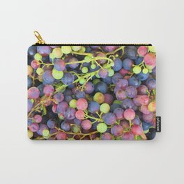 Grapes background Carry-All Pouch
