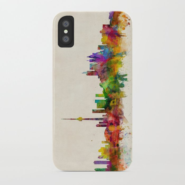 Toronto Skyline Iphone Case By Artpause Society6