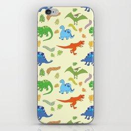Dinosaur Pattern iPhone Skin