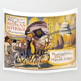 Women's March On Washington, Votes For Women, Women's Suffrage Wall Tapestry