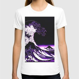 The Great Wave : Purple T-shirt