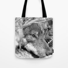 Hidden Wolf Tote Bag