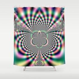 Fractal Flare Shower Curtain