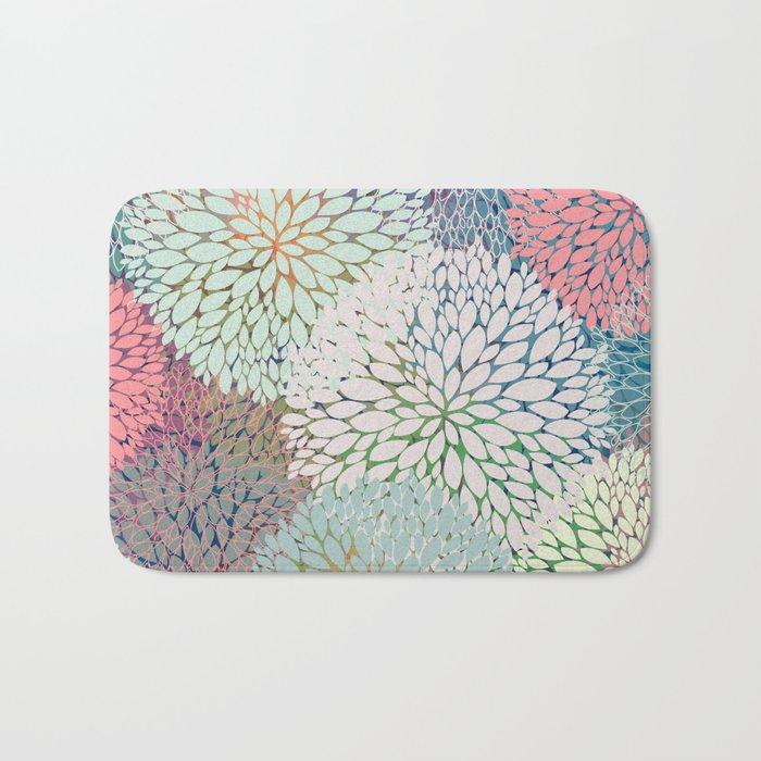 Abstract Floral Petals 3 Bath Mat