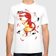 Valentine Dance Macabre Tango Mens Fitted Tee SMALL White