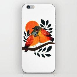 Fluffy Birds iPhone Skin