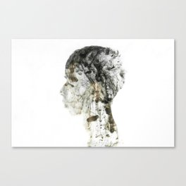 Silence2 Canvas Print