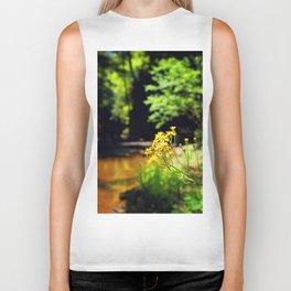 Creek Flowers Biker Tank