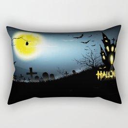 Nightmare Screaming Rectangular Pillow
