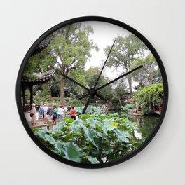 Shanghai Liu Garden | Jardin Liu Wall Clock