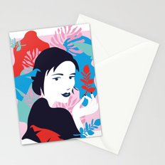 colourfull happiness Stationery Cards