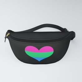 Polysexual Pride Flag Fanny Pack