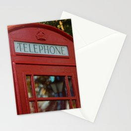 British Telephone Kiosk Stationery Cards