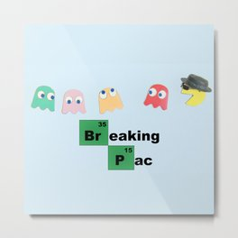 Breaking Pac II Metal Print