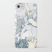 milk iPhone & iPod Cases featuring Milk by Anna Savva