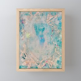 Opal Crystal October Birthstone from 52 Facets Zine Framed Mini Art Print