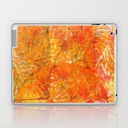 Golden leaving Laptop & iPad Skin