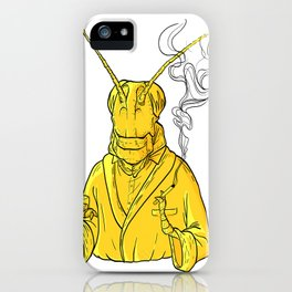 Smoking Hopper iPhone Case