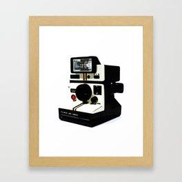 Instant camera Framed Art Print