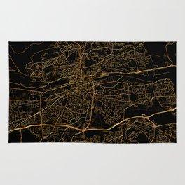 Cork map, Ireland Rug
