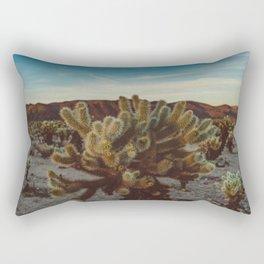 Cholla Cactus Garden X Rectangular Pillow