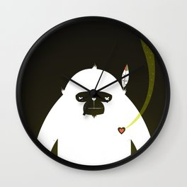 PERFECT SCENT - BIGFOOT 雪人 . EP001 Wall Clock