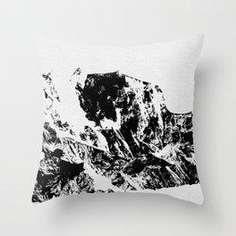 Mountains II Throw Pillow