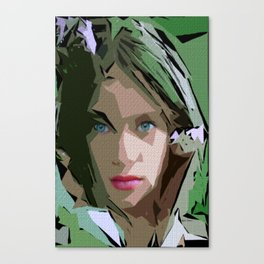 Female Expressions 611 Canvas Print