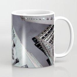Cityscape IV - Urban City Scene Dark Wall Art Noir  Coffee Mug