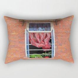 Double Happiness Window  Rectangular Pillow