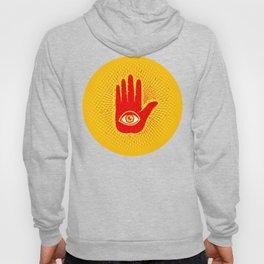 Hand and eye Hoody