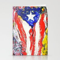 puerto rico Stationery Cards featuring Puerto Rico by Joel Gonzalez