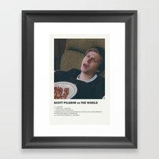 Scott Pilgrim Framed Art Print