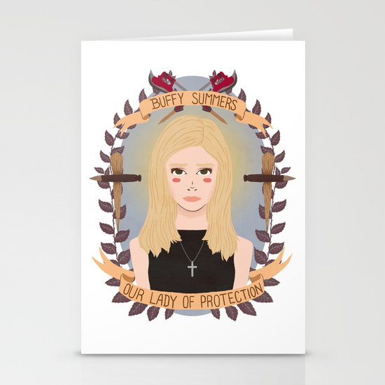 Buffy Summers Stationery Cards
