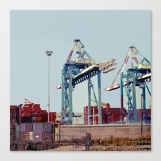 The Port Canvas Print