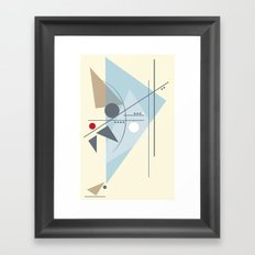 Everything Starts with a Dot Framed Art Print