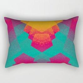 Pentagon Vibrancy Rectangular Pillow