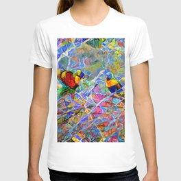 Rainbow Lorikeet Mosaic T-shirt