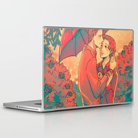 umbrella Laptop & iPad Skins featuring Umbrella by Arisu