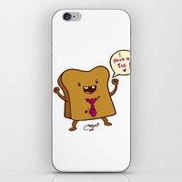 bread iPhone & iPod Skins featuring bread by Melissa Ballesteros Parada