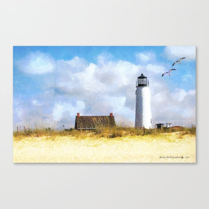St. George Island Lighthouse Canvas Print