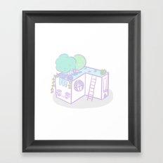 Casita I Framed Art Print