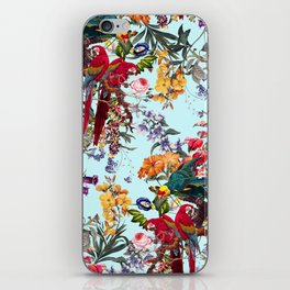Floral and Birds XXXIV iPhone Skin